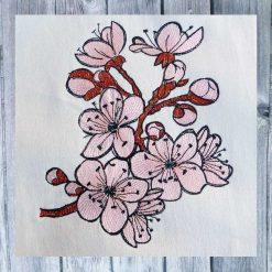 Kirschblüten 1318 Stickdatei