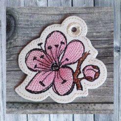Stickmuster ITH Taschenbaumler Kirschblüte
