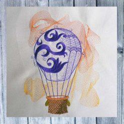 Stickdatei Heissluftballon 1626