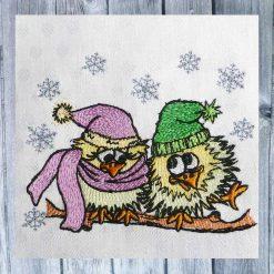 Stickdatei Winter Liebe 1010