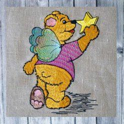 Stickdatei Engel Teddy13x18